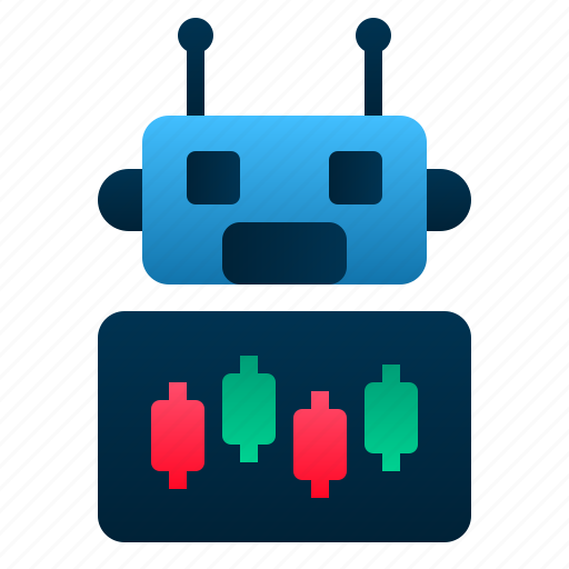 application, finance, investment, robo, software, stocks, trading icon