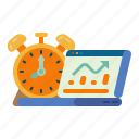 future, business, stock, market, investment, clock, graph