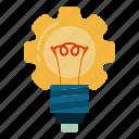 innovation, creative, idea, light, bulb, business, technology