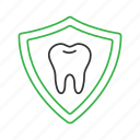 dental, guard, protection, safety, shield, teeth, tooth icon