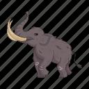 animal, century, mammoth, period, prehistoric, stone icon