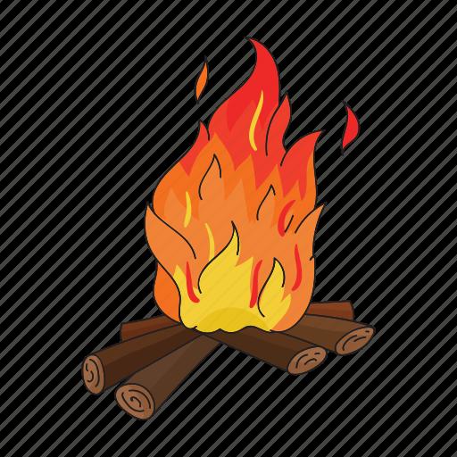 century, fire, firewood, period, prehistoric, stone icon