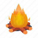 antiquity, archeology, bonfire, century, fire, hearth, stone icon