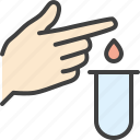 blood, blood test, diabetes, lab, laboratory, test icon