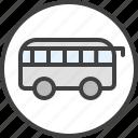 bus, minibus, public transport