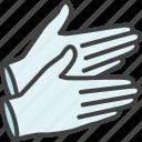 gloves, hand, medical, rubber