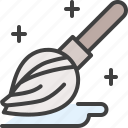 broom, cleaning, mop, mopping icon