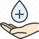 antiseptic, disinfectant, gel, hand, sanitizer icon