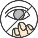 eye, do not, touch, touching, eyes