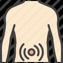 abdominal pain, diarrhea, gastrointestinal disease, intestines, stomach icon