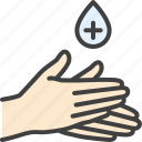 alcohol, antiseptic, gel, hand, treatment icon