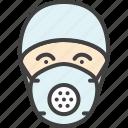 doctor, mask, physician, respirator, surgery