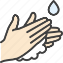 cleaning, sanitary, soap, wash, wash hands icon