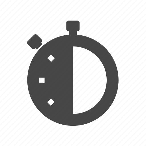 clock, stopwatch, timer icon