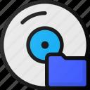 disk, folder, compact, storage, hard, cd