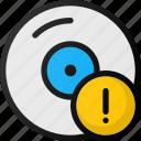 error, disk, alert, compact, storage, hard, cd