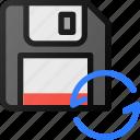 resave, drive, floppy, storage, save