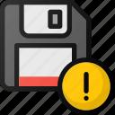 save, error, fail, drive, floppy, storage