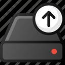 upload, drive, storage, hard