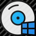 windows, disk, compact, storage, hard, cd