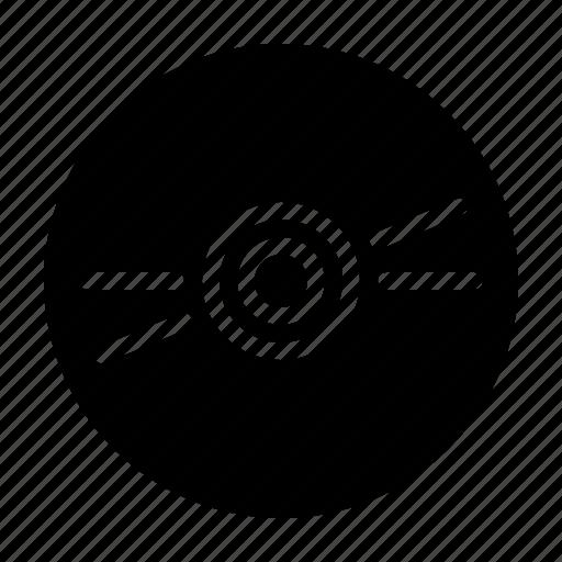 computer, data, disc, guardar, media, optical, save, storage icon
