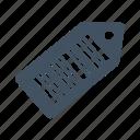 bar code, barcode, code, scan, shop, sticker icon