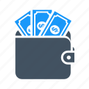 money, pay, payment, saving, savings, wallet icon