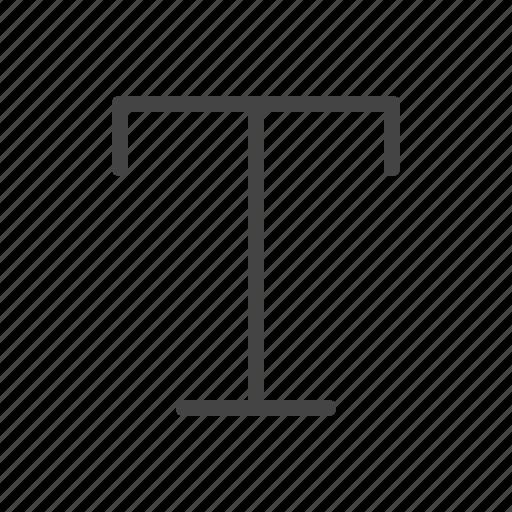 alphabet, font, text, type, typography icon