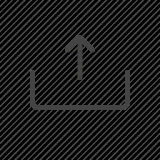 data, file, storage, up, upload icon