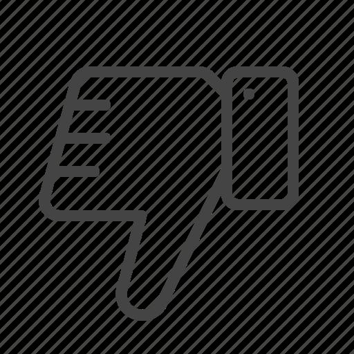 hand, like, thumb, unlike, vote icon