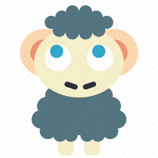 fairy tale, sheep, story, time icon