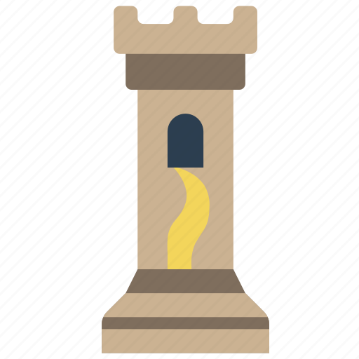 fairy tale, story, time, tower icon