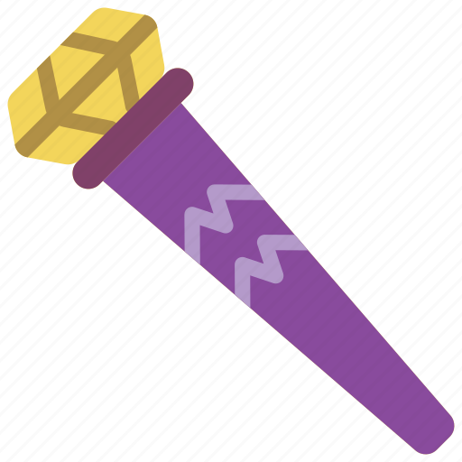 fairy tale, sceptre, story, time icon