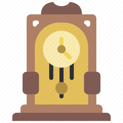 clock, fairy tale, grandfather, story, time icon