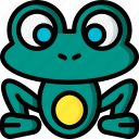 fairy tale, frog, story, time, ultra icon