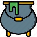 cauldron, fairy tale, story, time, ultra, witch icon