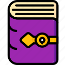 book, fairy tale, story, time, ultra icon