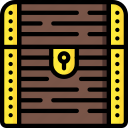 chest, fairy tale, story, time, treasure, ultra icon