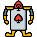 alice, card, fairy tale, guard, story, time, ultra icon
