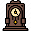 clock, fairy tale, grandfather, story, time, ultra icon