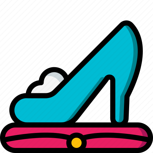 fairy tale, princess, shoe, story, time, ultra icon