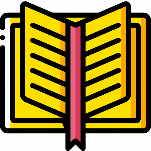 book, fairy tale, open, story, time, yellow icon