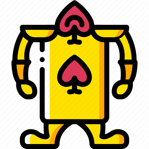 card, fairy tale, guard, once upon a time, story, time, yellow icon