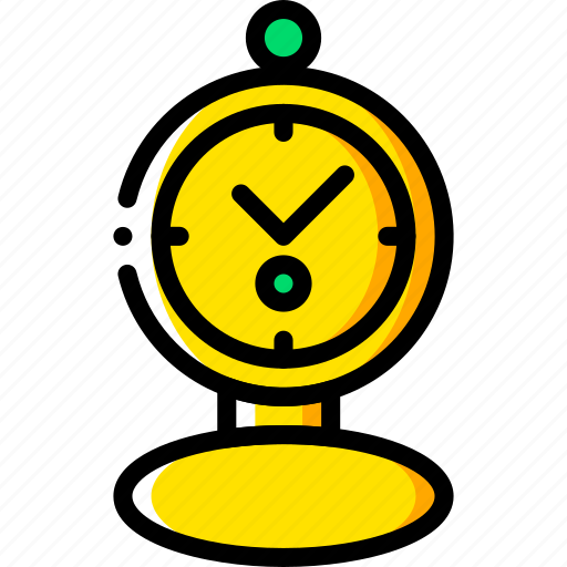 fairy tale, pocket, story, time, watch, yellow icon