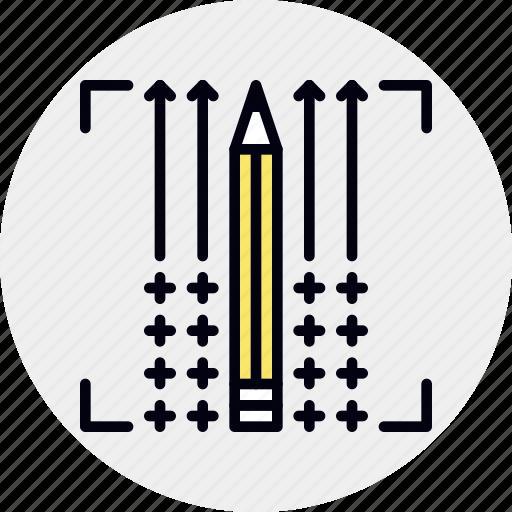 creative, production, progress icon