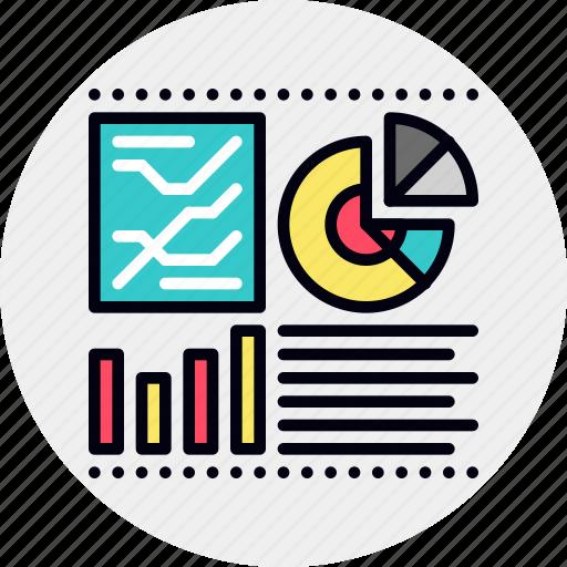 dashboard, infographics, monitoring icon