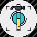 hammer, proficiency, work icon