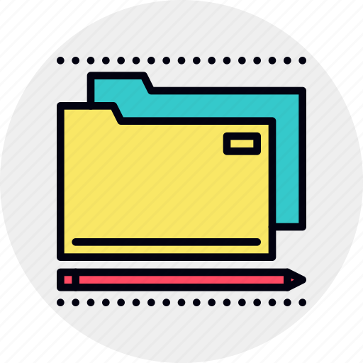 business, documents, folders icon