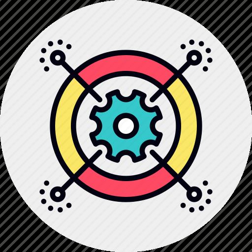 cog, process, work icon
