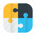 planning, puzzle, solution, strategy icon